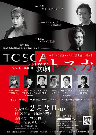 歌劇「トスカ」のイメージ